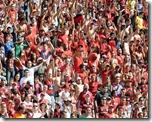 Torcida Rubro negra - Flamengo campeão 2011