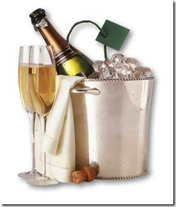 Balde champagne