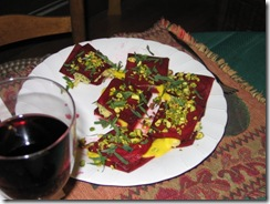 RFRW Red beet raviolis