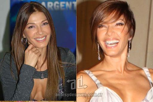 Antes y despues de Catherine Fulop - Corte de pelo, nuevo look