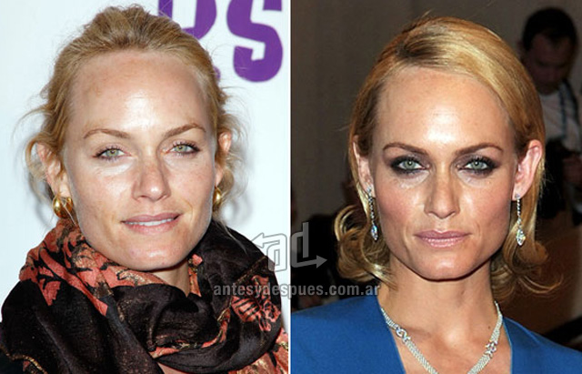 Amber Valletta without makeup