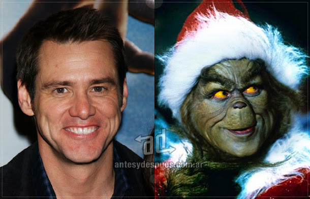 Jim Carrey sin máscara