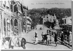 A WALK BY TOWN HALL SHIMLA
