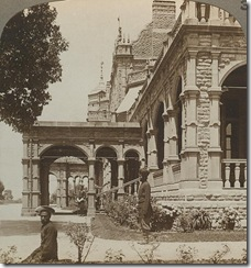 Viceregal Lodge, Palace of the Viceroy, at Simla the summer capital of India, c.1903