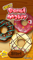 Screenshot of Sweet Donut Maker