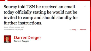 Twitter : Darren Dreger: Souray told TSN he receive ..._1284439425603.png