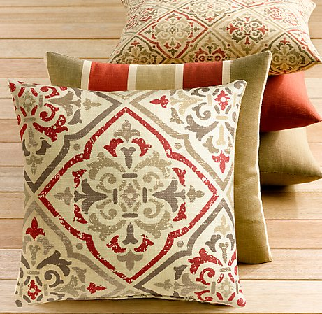 Outdoor Pillows On Sale - Kitchen Layout and Decorating Ideas