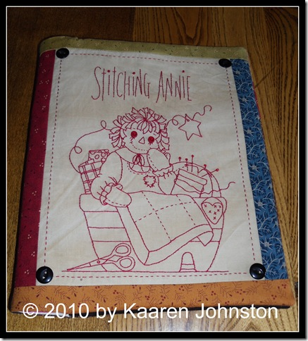 Stitching Annie Photo