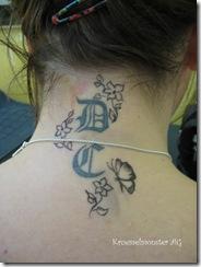 Entwurf Tattoo Nacken