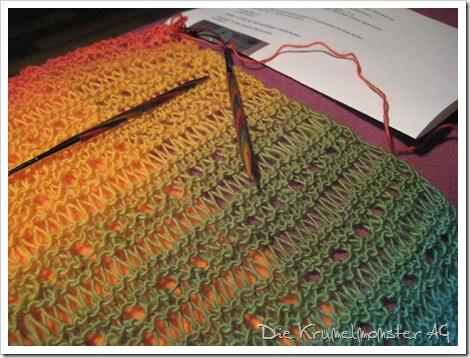 Zauberball Frische Fische Schal Design by Jule