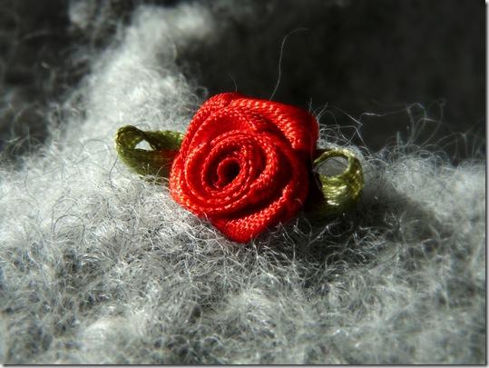 Rosenfilzpuschen
