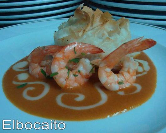 Pasta filo con pescado y salsa americana 002 (Large)