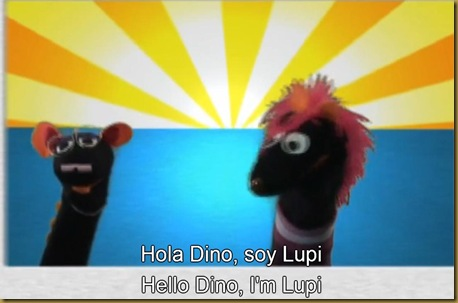 Speekee dino and Lupi
