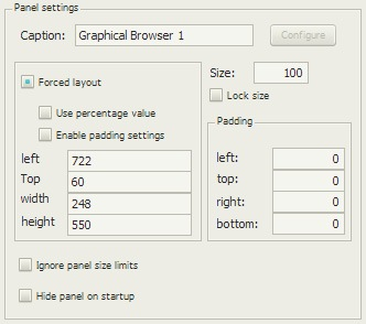 Graphical Browser 1の配置