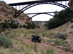 Under the Eagle Canyon Bridges