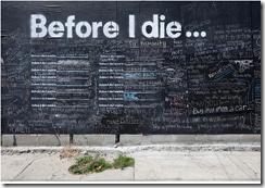 ölmeden önce 2