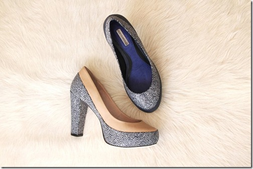 Rebecca Minkoff Launches Shoes Spring 2011 Pebble Leather Platform Pump