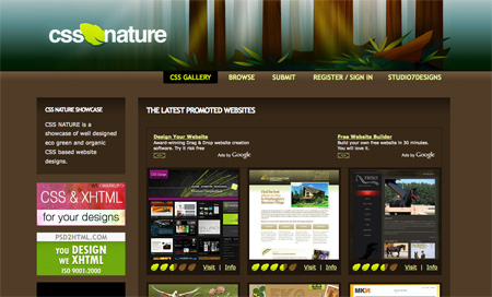 CSS Design Showcase Websites 07