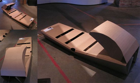 Disposable Cardboard Bed