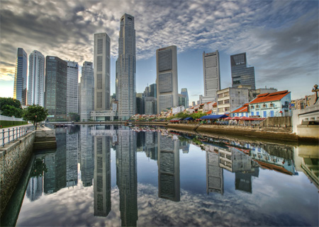 Reflections of CBD by Daniel Cheong
