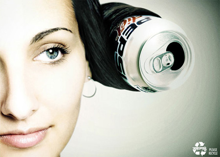 Pepsi Recycling Advertisement