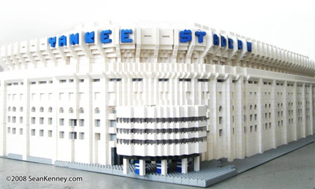 LEGO Yankee Stadium 3