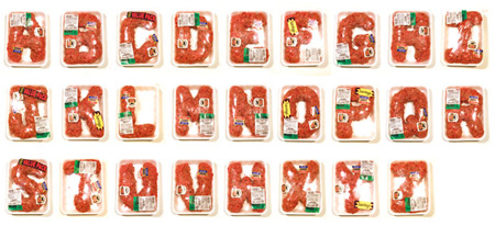Meat Alphabet by Robert J. Bolesta 3