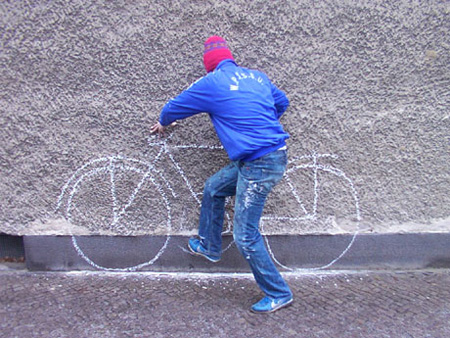 Creative Street Art by Robin Rhode