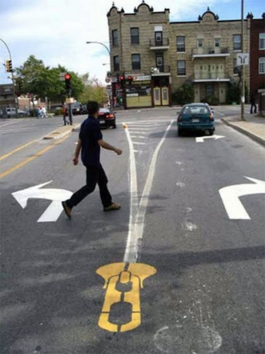 Pedestrian Street Art by Peter Gibson 13