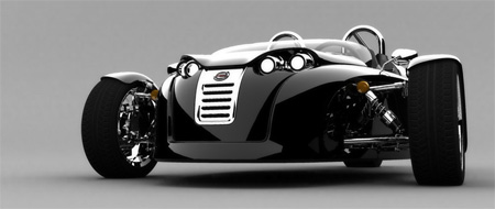 V13R Campagna Motors 3 Wheel Roadster 6