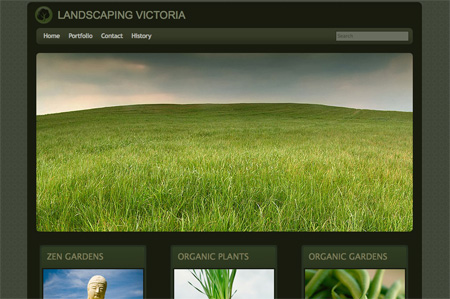 Green CSS Website Designs 17