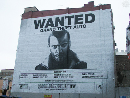 GTA 4 Advertisement