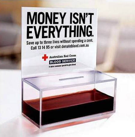 Blood Service Advertisement