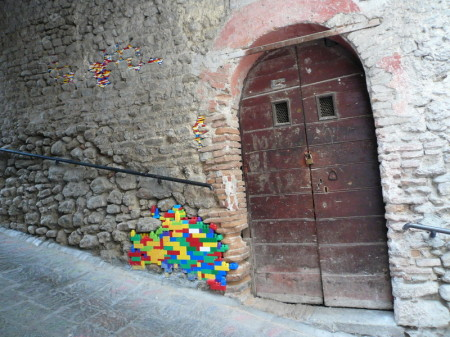 Ancient LEGO Walls 2