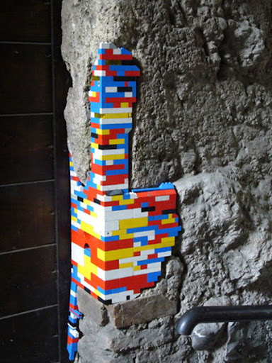 Ancient LEGO Walls 5