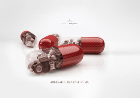 Creative Sony PSP Print Ads 3
