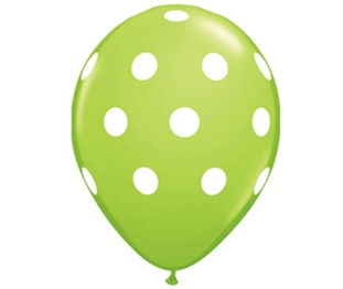 Balloon Lime Green  med