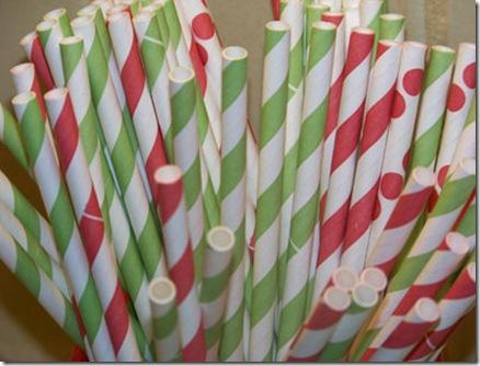 Straws Christmas med