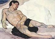 Muerte de Onan (Franc Lanjšček)