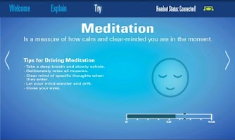 Screenshot of MindWave Mobile Tutorial