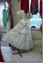White baiana dress