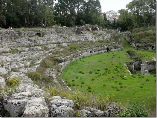 roman theater -siracusa