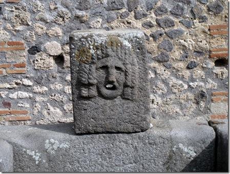 pompei drinking fountain