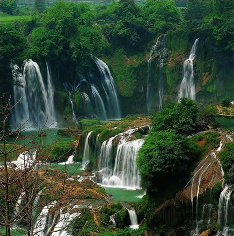 Detian (Virtuous Heaven) Waterfall