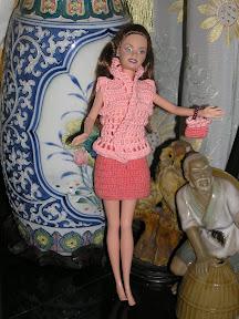 Barbie Fashion Custom Dari Rajutan Kaos Anak Aneka