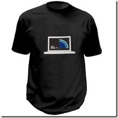 Wi-Fi Detecting T-Shirt (Blue - Large)
