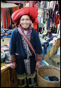 Red Dao in Sapa