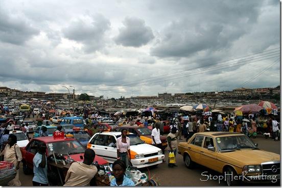 Kumasi MarketA