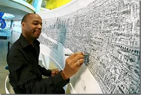 STEPHEN WILTSHIRE DRAWING GENIUS
