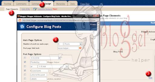 Cara Membuat Navigasi Postingan